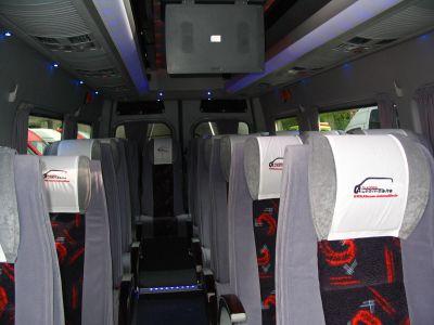 20-s minibus. MB Sprinter. VIP