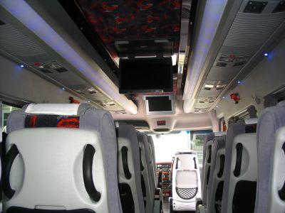 20-s minibus. MB Sprinter. LUX